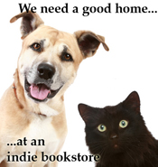 We need a good home at an indie bookstore