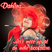 Dahling! Let's meet up at an indie bookstore.